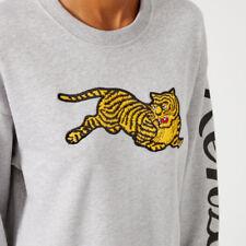 KENZO Jumping Tiger fleece sweatshirt RRP £180 Size 8 XS Oversize Top
