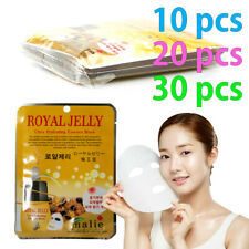 [Malie] ROYAL JELLY Facial Mask Sheet Essence 10-30pcs Korean Beauty Cosmetics