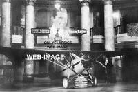 '30 RIALTO MOVIE THEATER LOBBY-AIRPLANE AVIATION DISPLAY 8x12 PHOTO YOUNG EAGLES