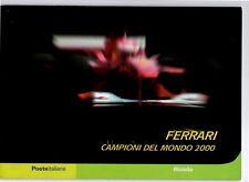 ITALIA - FOLDER 2001 - FERRARI CAMPIONE DEL MONDO F1 AL PIU' BASSO