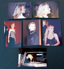 Lot of 6: CHERYL LADD Vintage Color Photographs CHARLIE'S ANGELS FAME photos
