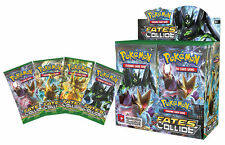 Pokemon TCG Booster English Edition Fates Collide 9pcs Cards for Xmas Gift
