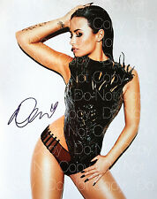 Demi Lovato signed sexy hot Confident 8X10 photo picture poster autograph RP 2
