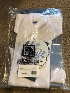 Ladies Stock Tie - white - one size