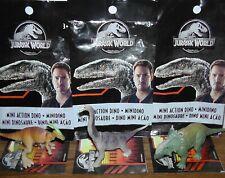 Jurassic World Brachiosaurus Parasaurolophus Pachyrhinosaurus Mini Blind Bag