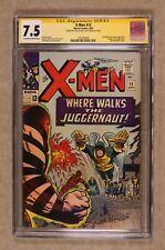 Uncanny X-Men #13 CGC 7.5 SS 1965 1232194005
