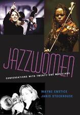 Jazzwomen: Conversations With Twenty-One Musicians (Includes CD) by Wayne Ensti