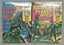 More details for escape from & battle for 'the planet of the apes' book and record sets - 1974.