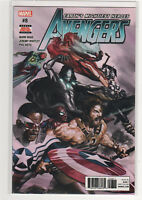 Avengers #8 Mark Waid Alex Ross Spiderman Iron Man Thor Falcon Vision 9.6