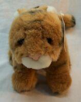 "GUND World Wildlife Fund WWF TIGER 7"" Plush STUFFED ANIMAL Toy NEW w/ TAG"