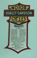 New Oil Tank Decal All Harley Models 62535-08 Water Slide