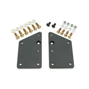 Transdapt 4572 Motor Mount Plates For GM LS / Vortech Into SB Chevy Chassis NEW