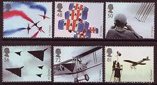 Gran Bretaña 2008 Set De 6 Air Pantallas Menta desmontado, Mnh