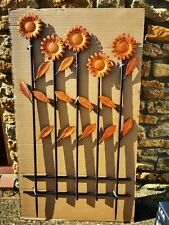 Kaleidoscope Sunflower Fence Panel - BNIB