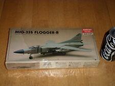 MiG-23S FLOGGER-B, SWING-WING SOVIET FIGHTER PLANE, Plastic Model Kit,Scale 1/72