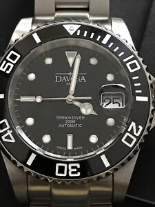 Davosa swiss Ternos Diver Watch 40mm Ceramic 200m