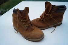 Timberland zapatos señora botas botines botas talla 39 cuero Camel #