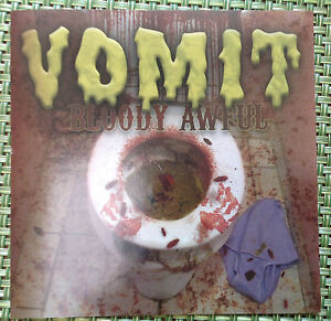 VOMIT Bloody Awful CD Hardcore Punk Mentors DRI Suicidal Tendencies Cuz'n Bill