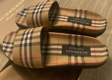 Burberry Men's Slides Size 44.5