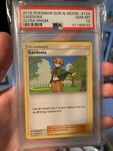 Pokemon Gardenia Sun and Moon Base    PSA 10    Pop 5   