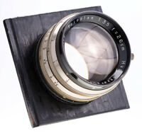 Hugo Meyer  Trioplan 26 cm f 3,5 Softfokus / 19 Blades / SN:984117  / Extrem RAR