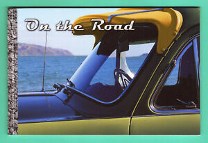 NEW ZEALAND - 2000 - ON THE ROAD PRESTIGE BOOKLET -THE STORY OF POST WAR NZ CARS