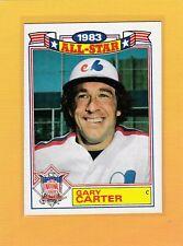 1984 TOPPS 83 ALL STAR BASEBALL GARY CARTER #20 EXPOS NMMT *64094
