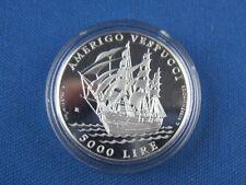 San Marino 5000 Lire Amerigo Vespucci 1995 PP