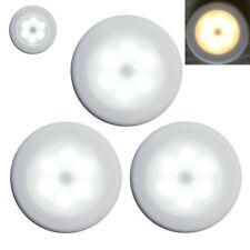 5x Led Wireless Night Light Motion Auto Sensor Smart Wall Cabinet Stair Lamp