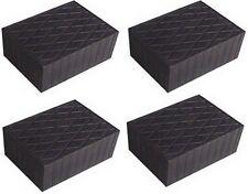 4 X bloc de caoutchouc 160x120x60 mm. pour Pont elevateur - tampons - Italie
