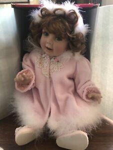 """Marie Osmond """"Sydney"""" 21"""" Porcelain Toddler Doll by Karen Scott #0669"""