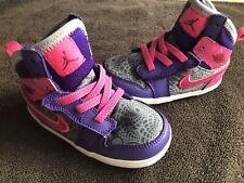 Nike Air Jordan Shoes Size 6C Toddler Girls EUC