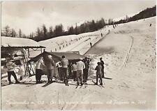 BARDONECCHIA - SKI LIFT GIGANTE SULLE PENDICI DEL JAFFERAU (TORINO) 1961
