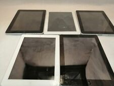 Lot of 5 Apple iPads (Different models.)