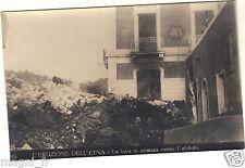 Italie - cpa - L'eruzione dell Etna - La lava si avanza verso l'abitato ( i2224)
