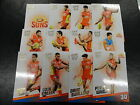 2017 AFL SELECT CERTIFIED TEAM SET OF 12 CARDS GOLD COAST SUNS
