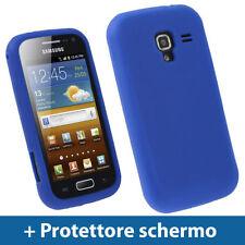 Custodie preformate/Copertine blu per Samsung Galaxy Ace 2