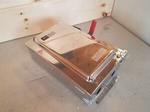Cutler Hammer DH361W Safety Switch & Stainless Steel Enclosure 30A 600V 3Pole