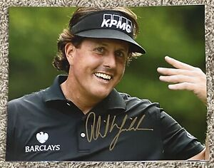 Phil Mickelson Autographed 8x10 Photo *MASTERS WINNER*