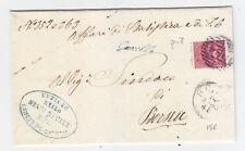 AA242-ROVIGO-GAVELLO COLLETTORIA CORSIVA SU PIEGO 1880