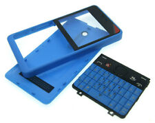 Front Panel Glass Housing Body Cover Case Keyboard For Nokia 210 BLUE BLACK
