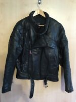 M Heyberry Motorradhandschuhe Leder Retro Old School Cafe Racer Chopper Grau Gr