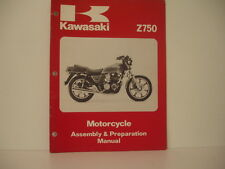 Manual KAWASAKI Assembly & Préparation  Z750 1979