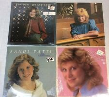 Sandi Patti 4 Vinyl Records. New/Sealed. Songs From The Heart, Love Overflowing