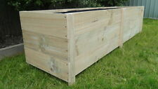 Large 3B Treated Pine Flower Garden Veggie Herb Cafe Rustic Raised Planter box