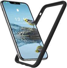 iPhone 11 Bumper Case, XR Soft Liquid Silicone Gel Rubber Cover 6.1 inch, Black