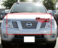 Fits 09-18 Nissan Frontier Main Upper Billet Grille Insert
