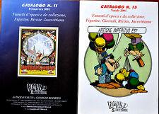 2 Cataloghi da Fumetto & Lettura 2001 nn. 11 - 13