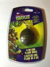 Teenage Mutant Ninja Turtles TMNT 8GB Shell USB Flash Drive Key Chain
