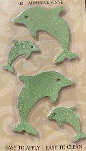 12 Dolphin No Slip Bathtub Shower Threads Self adhesive Tile Wall